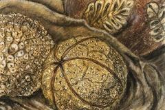 2013 Decorative Ball Study: Charcoal, Pastel