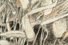 2012 Clay, Watercolor, Graphite, Ink